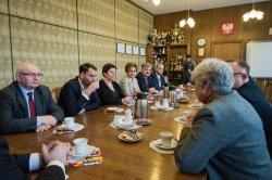Spotkanie zKrystyną Łybacką