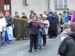 Droga Krzyżowa na ulicach Łobżenicy