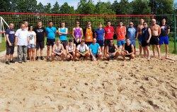 Letni turniej na plaży
